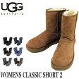 UGG ムートンブーツ 2016秋冬新作 WOMENS CLASSIC SHORT II アグ オーストラリア クラシックショート2 レディース 1016223 02P03Dec16