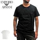 EMPORIO ARMANI エンポリオアルマーニ 110821 クルーネック Tシャツ 半袖 メンズ 【メール便対応】