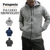 Patagonia パタゴニア パーカー 39418 メンズ P-6 ロゴ ミッドウェイト フルジップ フーデット スウェットシャツ MENS P-6 MIDWEIGHT FULL-ZIP HOODED SWEATSHIRT 02P03Dec16