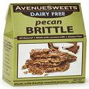 AvenueSweets-手作りの昔ながらの乳製品を含まないビーガンナッツ脆性-7オンスボックス-ピーカン AvenueSweets - Handcrafted Old Fashioned Dairy Free Vegan Nut Brittle - 7 oz Box - Pecan
