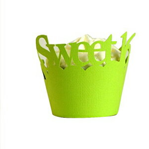 All About Details Sweet 16 Cupcake Wrappers, Set of 12 (Li画像