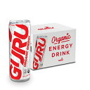 GURU Lite Organic Low Calorie Energy Drink with G