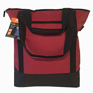 50 Can Thermal Tote - Red