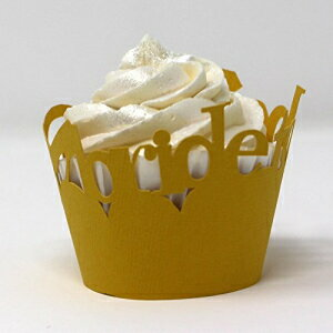 All About Details Bride-to-be Cupcake Wrappers, Set of 12画像