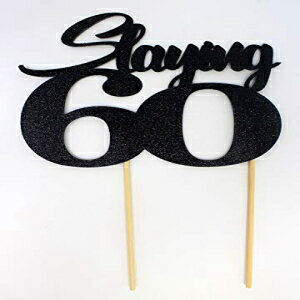 All About Details Slaying 60 Cake Topper, 1pc,画像