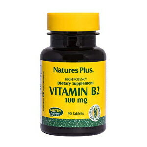 サプリメント, その他 NaturesPlus Vitamin B2 (Riboflavin) - 100 mg, 9
