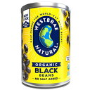 Westbrae Natural Organic Black Beans, 15 Ounce Cans (Pack of 12)