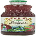 Rw Knudsenオーガニックジュース-ブルーベリーザクロ-6-32 Fl Ozの場合 R.w. Knudsen Organic Juice - Blueberry Pomegranate - Case Of 6-32 Fl Oz