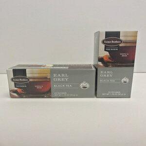 お茶飲料, その他 -225 Farmer Brothers Premium: Earl Grey Hot Tea - 225 ct boxes