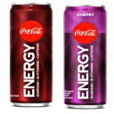 Coke Energy Drink Bundle of Three Coke and Three Cherry Co