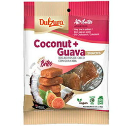 Dulzura Borincana Coconut-Guava Snacks Net.Wt 3.4 oz