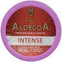 Aldecoa K-Cup Coffee, Intense, 80 Count