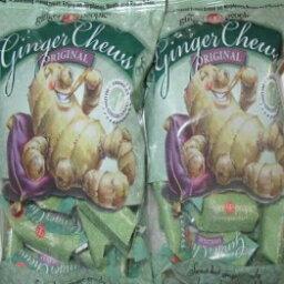 ザジンジャーピープルオリジナルジンジャーチューズ、5オンス(2パック)グルテンフリー The Ginger People Original Ginger Chews, 5 oz (Pack of 2) Gluten Free