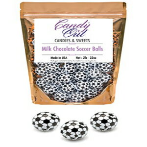 CandyOut Chocolate Soccer Balls 2 Pound - Foil Wr