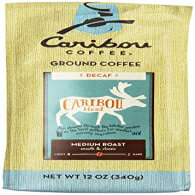 Caribou Coffee Blend Decaf Ground, 12-ounces
