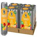 V8 +Energy, Juice Drink with Green Tea, Peach M
