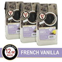 French Vanilla Ground Coffee, 12 Oz Bags, Victor