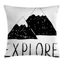 Ambesonne Adventure Throw Pillow Cushion Cover, Ex