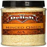 玉ねぎのみじん切り、7オンスの中瓶 0.43 Pound (Pack of 1), Minced, Minced Onion by Its Delish, 7 Oz Medium Jar