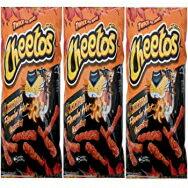8.5 Ounce (Pack of 3), Cheetos XXtra Flamin' Hot Crunchy - 8.5 Oz (3pk)