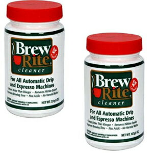 Brew Rite Coffee Maker Cleaner for Home Coffee Machines and Espresso Equipment, 2 Pack (8 oz. each)画像