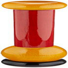 Alessi   MP0210 Design Wooden Pepper Mill, Red