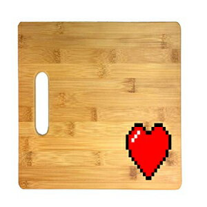 8-Bit Heart Video Game Thick 3D COLOR Printed Bam