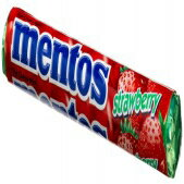 Mentos Strawberry Candy, 1.32-Ounce Rolls (Pack o