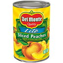 Del Monte Foods Delmonte Lite Sliced Yellow Cling