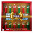 PEZ Candy Pez 12 Days Of Christmas Themed Dispenser Ornaments With Sugar Cookie Flavored Candy Gift Set