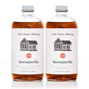 水・ソフトドリンク, 野菜・果実飲料 Pink House Alchemy Sarsaparilla Syrup - 2 16 o
