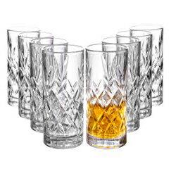 Clovelly Lowball Whiskey Glasses, 8 Pc. Set, 10.