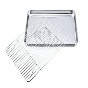 Baking Sheet and Rack Set, P&P CHEF Stainless S