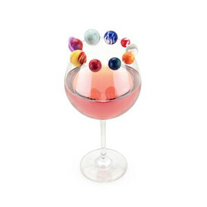 TrueZoo 5164 Planet Drink Charms, One Size