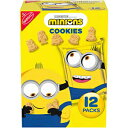 BARNUM'S ANIMALS Nabisco Animals Minions Cookies, 12 Snack Pack (1 Oz.), 1Count