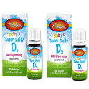 Carlson Super Daily D3 for Baby 400iu Supplement,