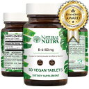 Natural Nutra Premium Vitamin B6 (Pyridoxine Hydro