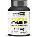 Pyridoxal 5-Phosphate 100 mg - 90 Vegetarian Capsu