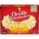 バター、Orville Redenbacher's Butter Popcorn、3.29オンスクラシックバッグ、6カウント Butter, Orville Redenbacher's Butter Popcorn, 3.29 Ounce Classic Bag, 6-Count