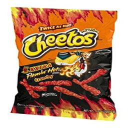 チートスXXTRAフラミンのホットカリカリチーズ風味のスナック8.25オンス。(1袋) Cheetos XXTRA Flamin' Hot Crunchy Cheese Flavored Snacks 8.25 Oz. (1 Bag)