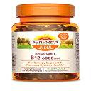 Sundown Sublingual Vitamin B-12 6000 mcg, 60 Tabl