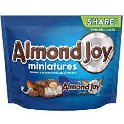 アーモンドジョイチョコレートココナッツキャンディー、ミニチュア、10.2オンスバッグ ALMOND JOY Chocolate Coconut Candy, Miniatures, 10.2 oz Bag