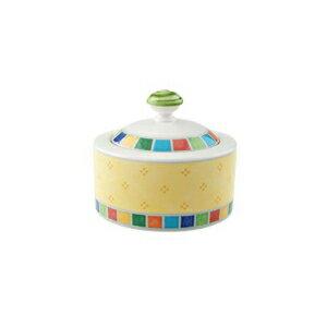キッチン用品・食器・調理器具, その他 Villeroy Boch Twist Alea Limone Covered Sugar, 6.75 oz, WhiteYellow
