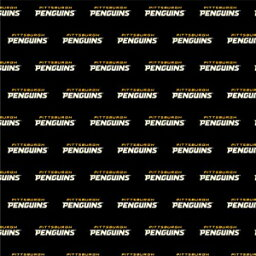 GRAPHICS & MORE NHL Pittsburgh Penguins Logo Premium Roll Gift Wrap Wrapping Paper