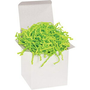 Partners Brand PCP10N Crinkle Paper, 10 lb, Lime