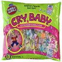 ダブルバブルクライベイビーアソートフレーバーエクストラサワーバブルガム、パック2、12オンスバッグ Dubble Bubble Cry Baby Assorted Flavor Extra Sour Bubble Gum, Pack of 2, 12 oz Bags