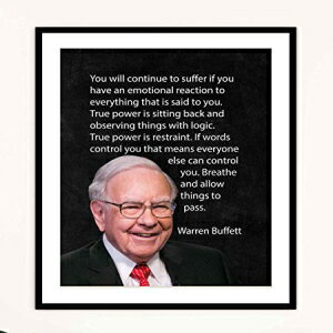 "Warren Buffett Quotes- ""True Power Is Observing T"