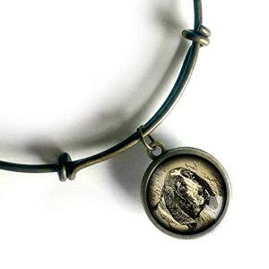 ジュエリー・アクセサリー, その他 Basset Hound Dog Charm Bracelet