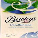 Bewley's Tea Bags、カフェイン抜き、25カウント、50グラム