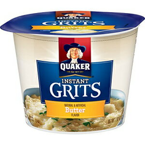 Quaker Instant Grits, Butter Flavor, Breakfast Ce